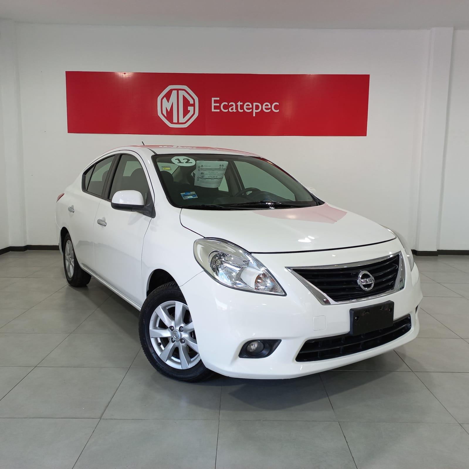 Nissan Versa Advance TM 2012