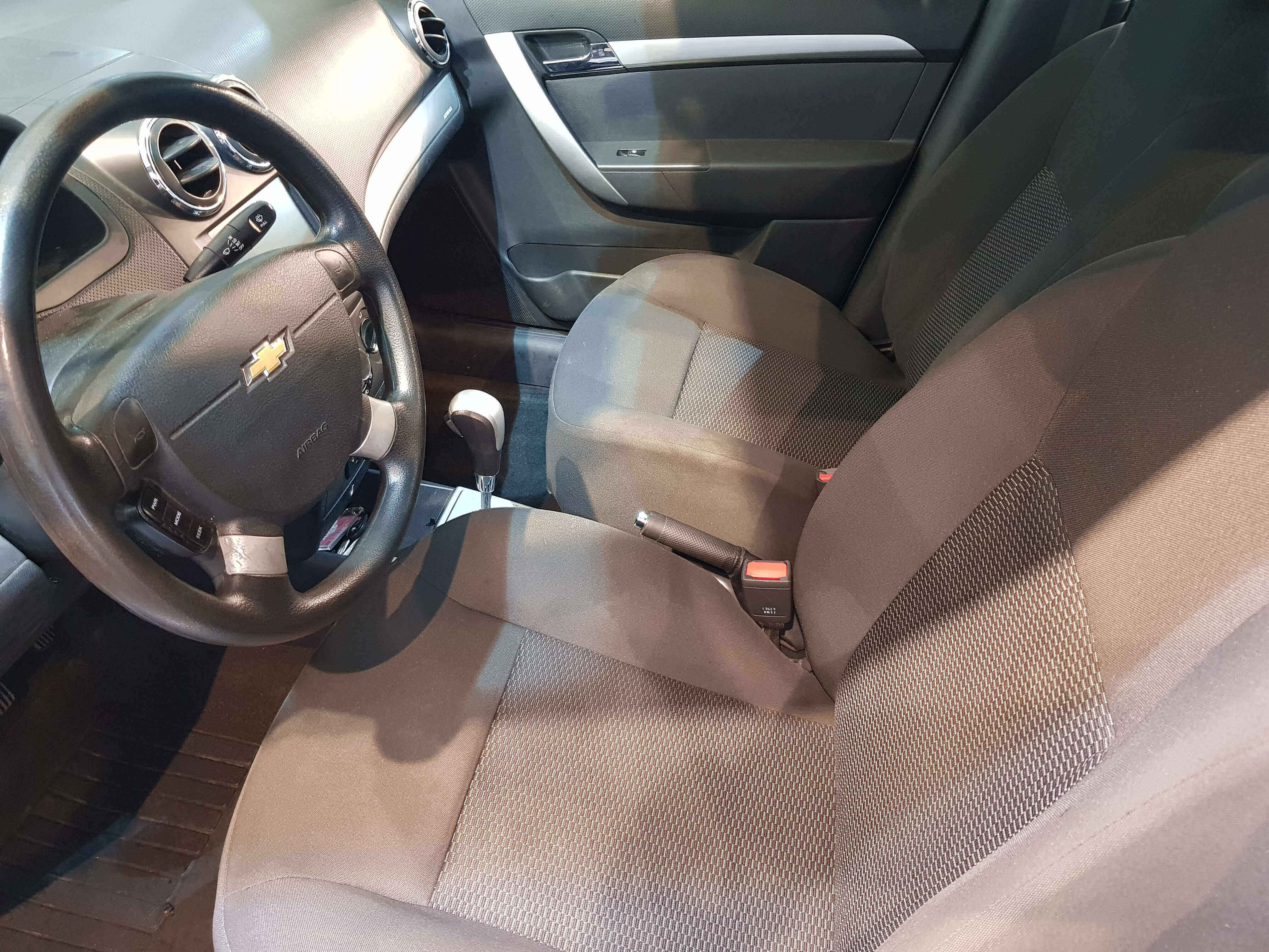 Chevrolet Aveo Frente 6