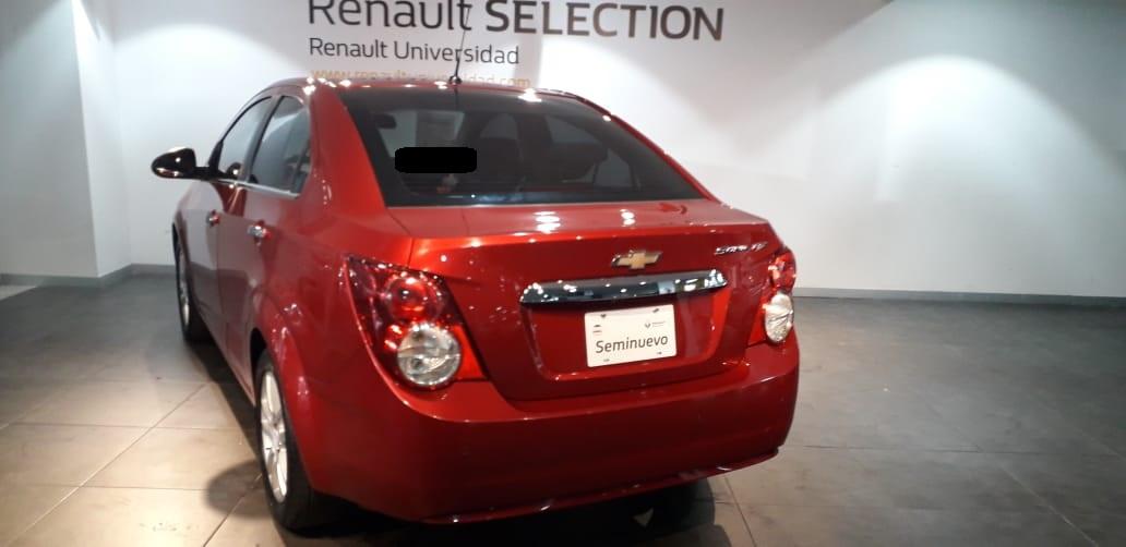 Chevrolet Sonic Tablero 14