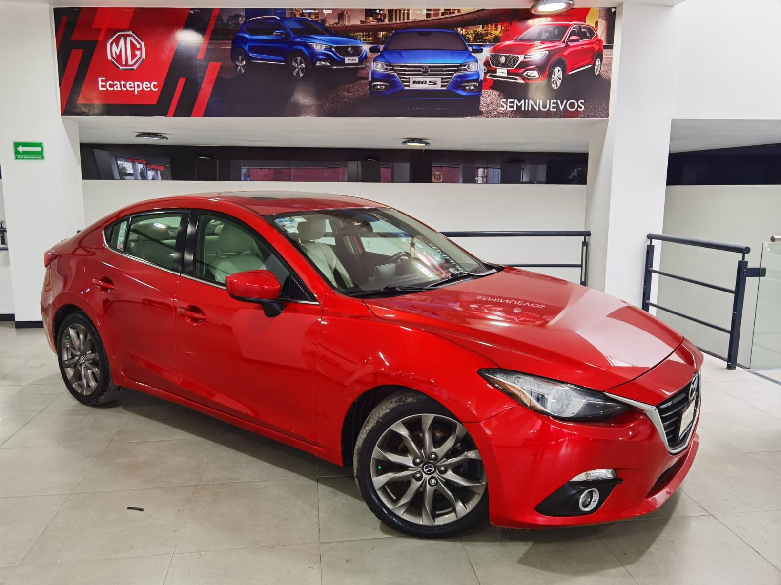 Mazda 3 Sedan Interior 1