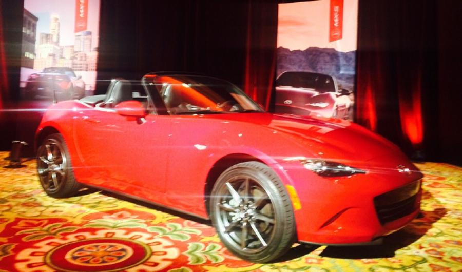 El nuevo Mazda MX-5 llega en septiembre