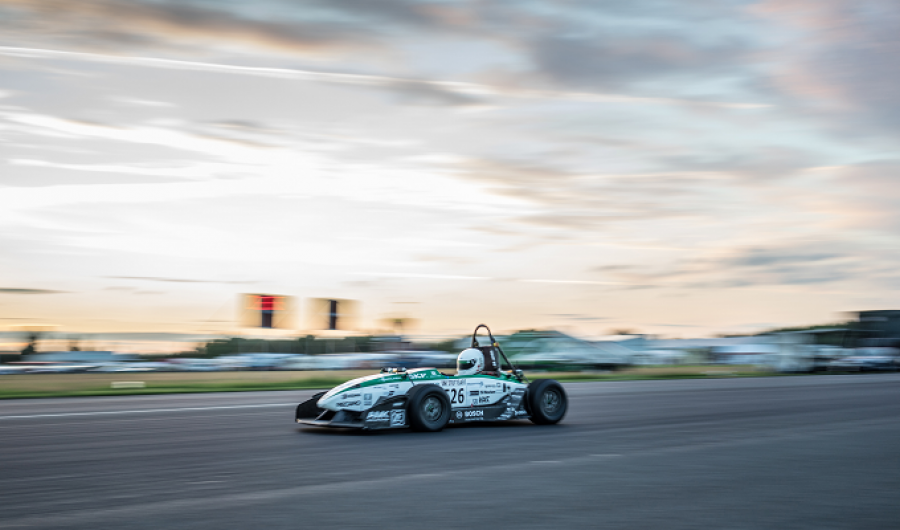 Record mundial 0 a 100 en auto eléctrico