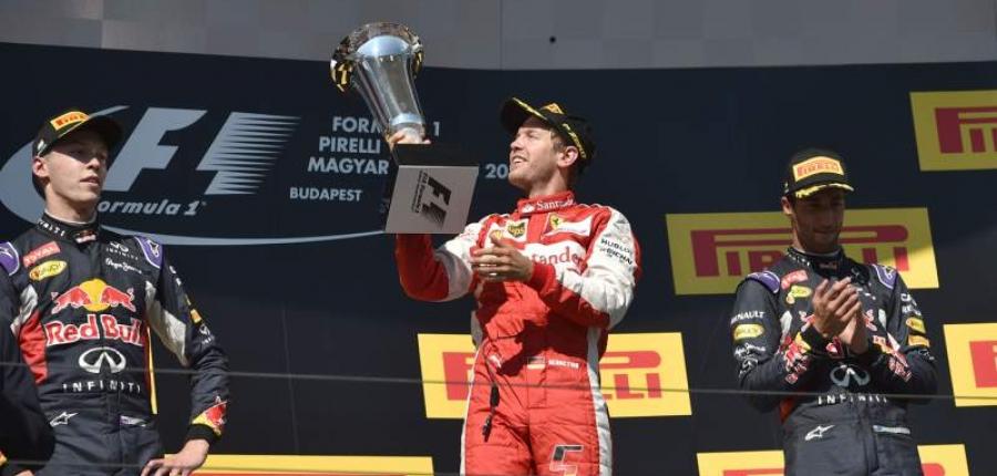 ¡Forza Vettel, Forza Ferrari!