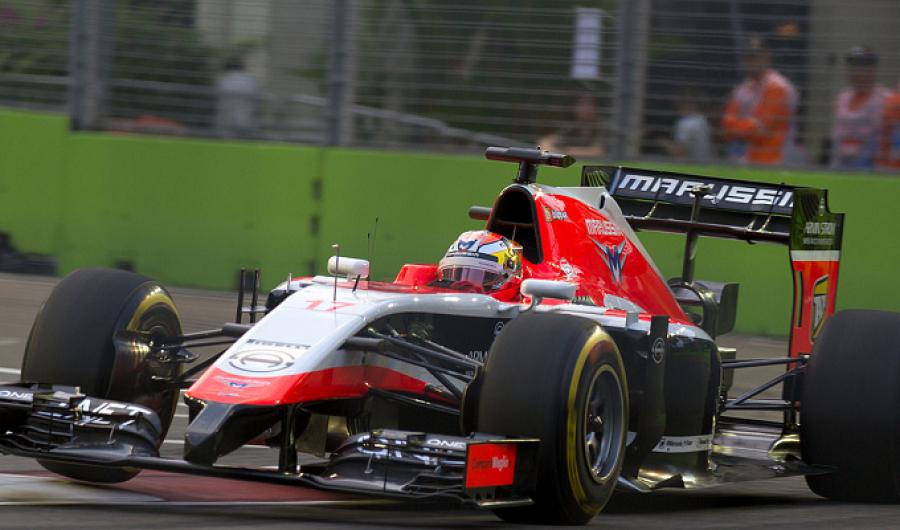Bianchi iba a reemplazar a Räikkönen