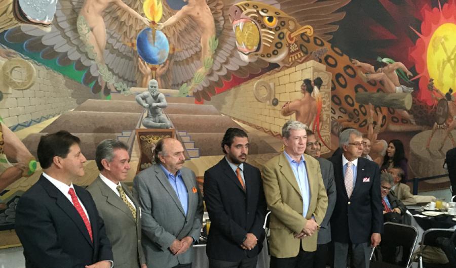Fittipaldi, Arrivabene, entre otros, en México