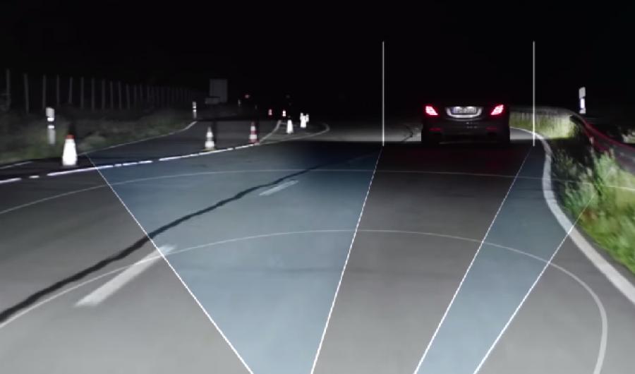 Video: Faros inteligentes de Mercedes