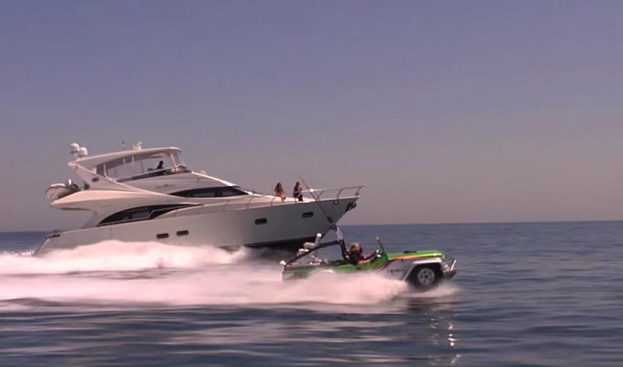 Video: El auto anfibio más veloz