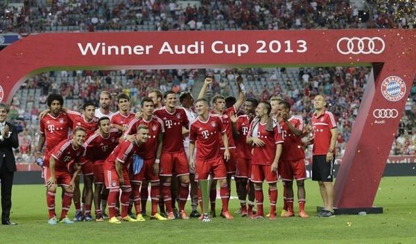 Real Madrid y Bayern München Audi Cup 2015