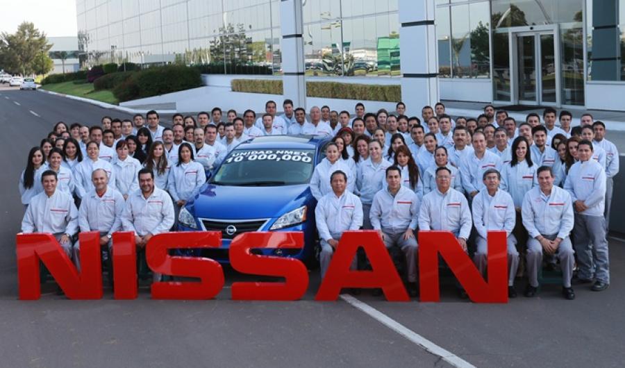 Nissan Llega a las 10 Millones de Unidades Producidas en México