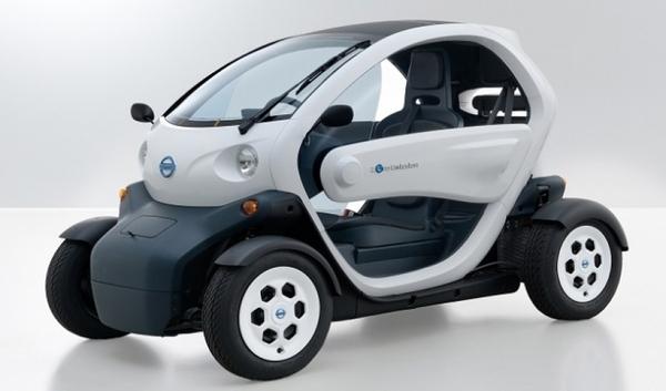 Movilidad eléctrica en miniatura: Nissan presenta Choi Mobi