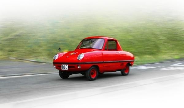 Nissan restaura el Datsun Baby, auto desarrollado especialmente para niños