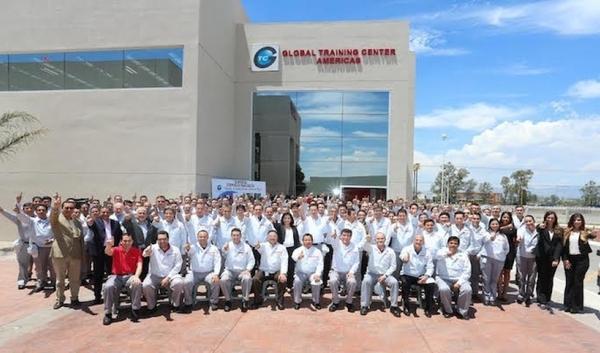 Nissan inaugura en Aguascalientes el GTC de las Américas de Nissan-Renault.