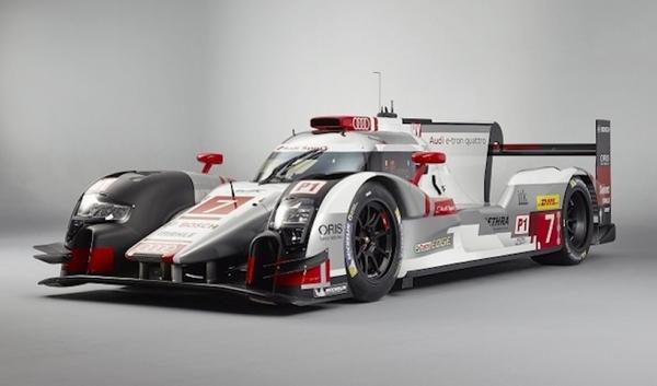 Audi presenta su nuevo R18 e-tron Quattro para Le Mans