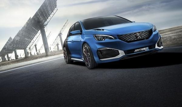 Video Peugeot R Hybrid
