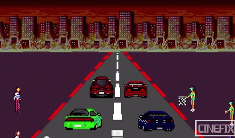 El videojuego de Rápido y Furioso en 8 bits.