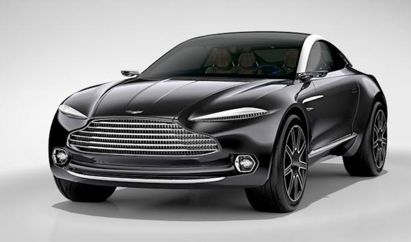 Presentación del exclusivo Aston Martin DBX Concept