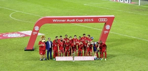 FC Bayern se lleva la Audi Cup
