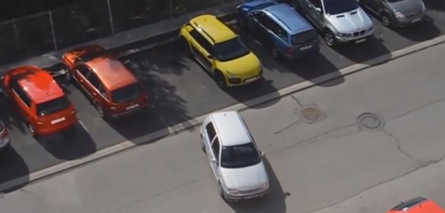 Video: Hay personas a las que se les complica demasiado estacionarse