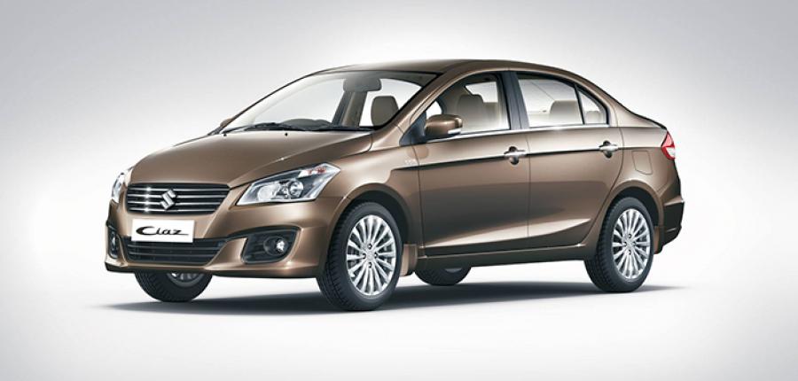 Preparan Suzuki Ciaz 2015 para mercado mexicano