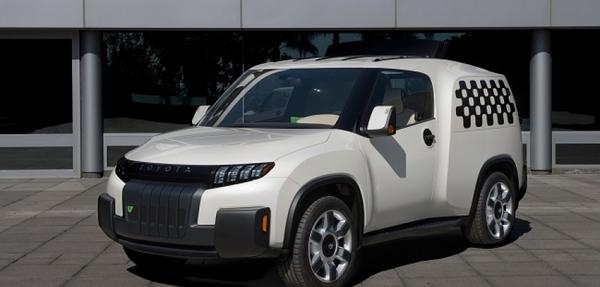 Toyota presentó su vehículo concepto utilitario U2