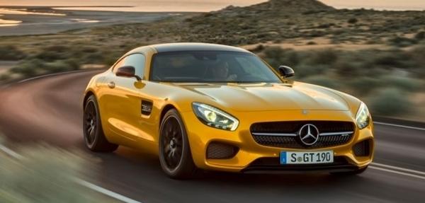 Mercedes-Benz presentó su potente AMG GT