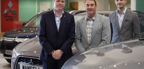 Nigel Mansell apuesta por Mitsubishi en Reino Unido