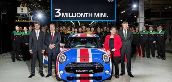Se construye el MINI número 3 millones