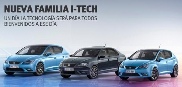 Llega la nueva familia i-Tech de Seat a México