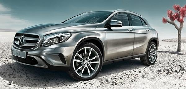 Mercedes Benz GLA obtiene la puntuación máxima en seguridad