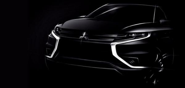 Mitsubishi nos muestra el boceto de su Outlander PHEV Concept-S