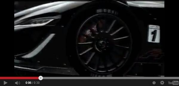 Toyota nos da un vistazo del FT-1 Vision GT Concept para Gran Turismo 6