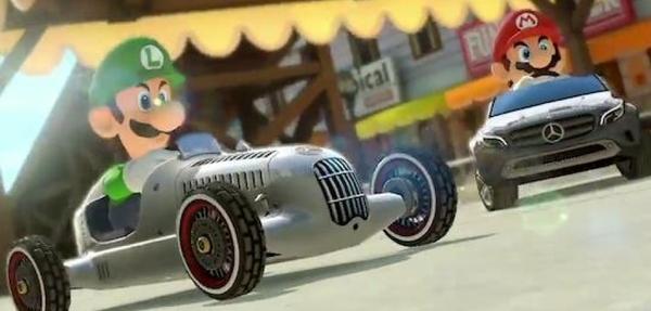 Mercedes-Benz llegará a Mario Kart 8