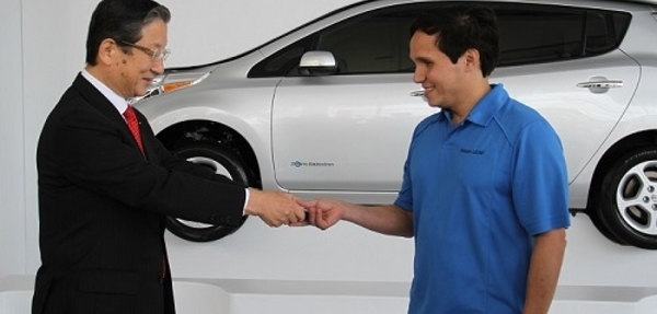 Nissan Leaf ya tiene su primer dueño en México