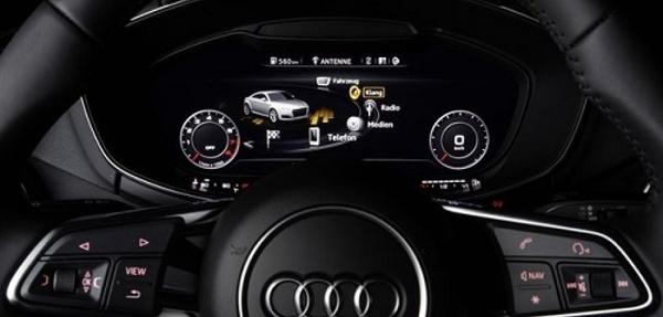 Audi TT incorpora la tecnología Symphoria