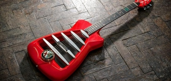 """Alfa Romeo """"rockea"""" con el lanzamiento de su guitarra"""