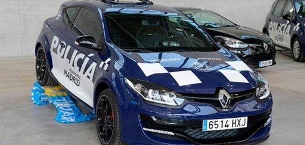 La policía de Madrid patrullará en autos Renault Mégane RS
