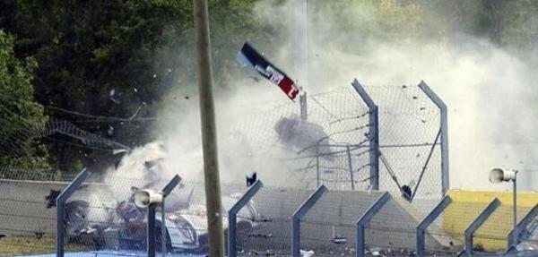 VIDEO: Aparatoso accidente en Le Mans del Audi R18 e-tron Quattro
