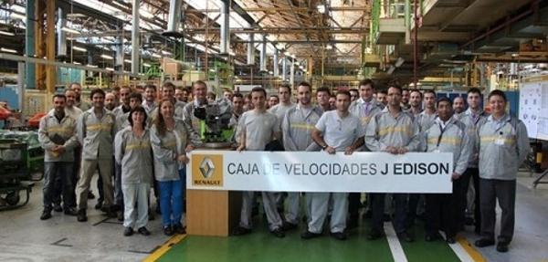Renault da inicio a la fabricación de la caja de cambios de Twingo y Smart