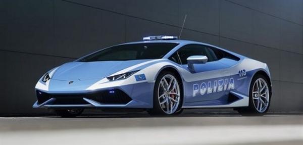 Lamborghini Huracán el nuevo policía italiano