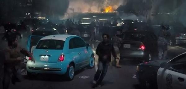 Fiat y Godzilla juntos en la pantalla grande