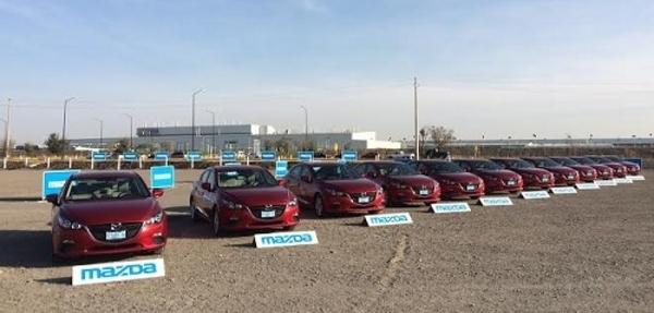 Mazda dio el banderazo de salida del #Mazda3Tour