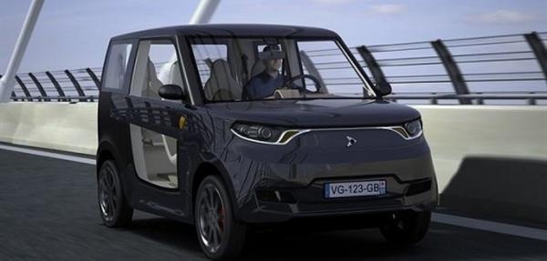 Diseñan un vehículo eléctrico completamente reciclable