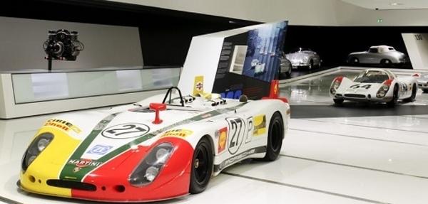FOTOS:Primera presentación del 919 Hybrid en el Museo Porsche