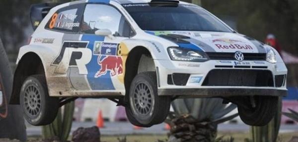 El francés Ogier gana la etapa callejera de Guanajuato del Rally de México