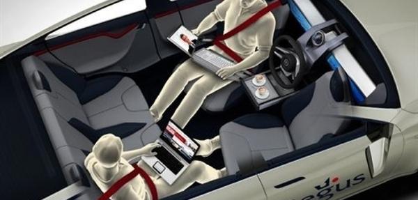 Regus y Rinspeed desarrollan un prototipo de coche automatizado