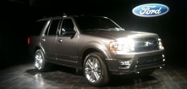 Ford Expedition 2015 sólo estará disponible con un EcoBoost de 3,5 litros