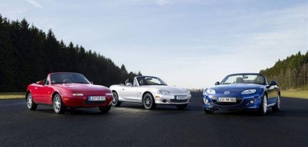 Mazda celebra el 25 aniversario del MX-5