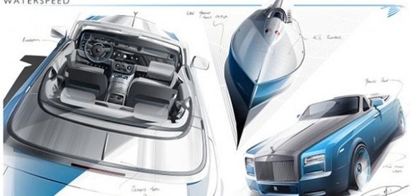 Rolls-Royce presentará en Ginebra el Phantom Drophead Coupé Bespoke Waterspeed Collection