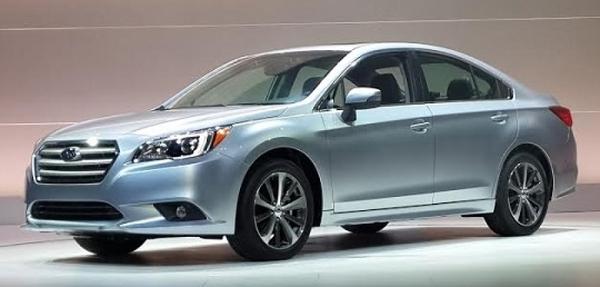 Subaru Legacy 2015 es presentado en el Autoshow de Chicago