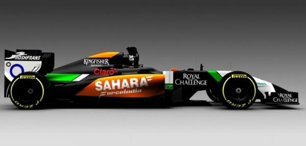 Force India da a conocer el primer monoplaza del próximo Mundial de F1